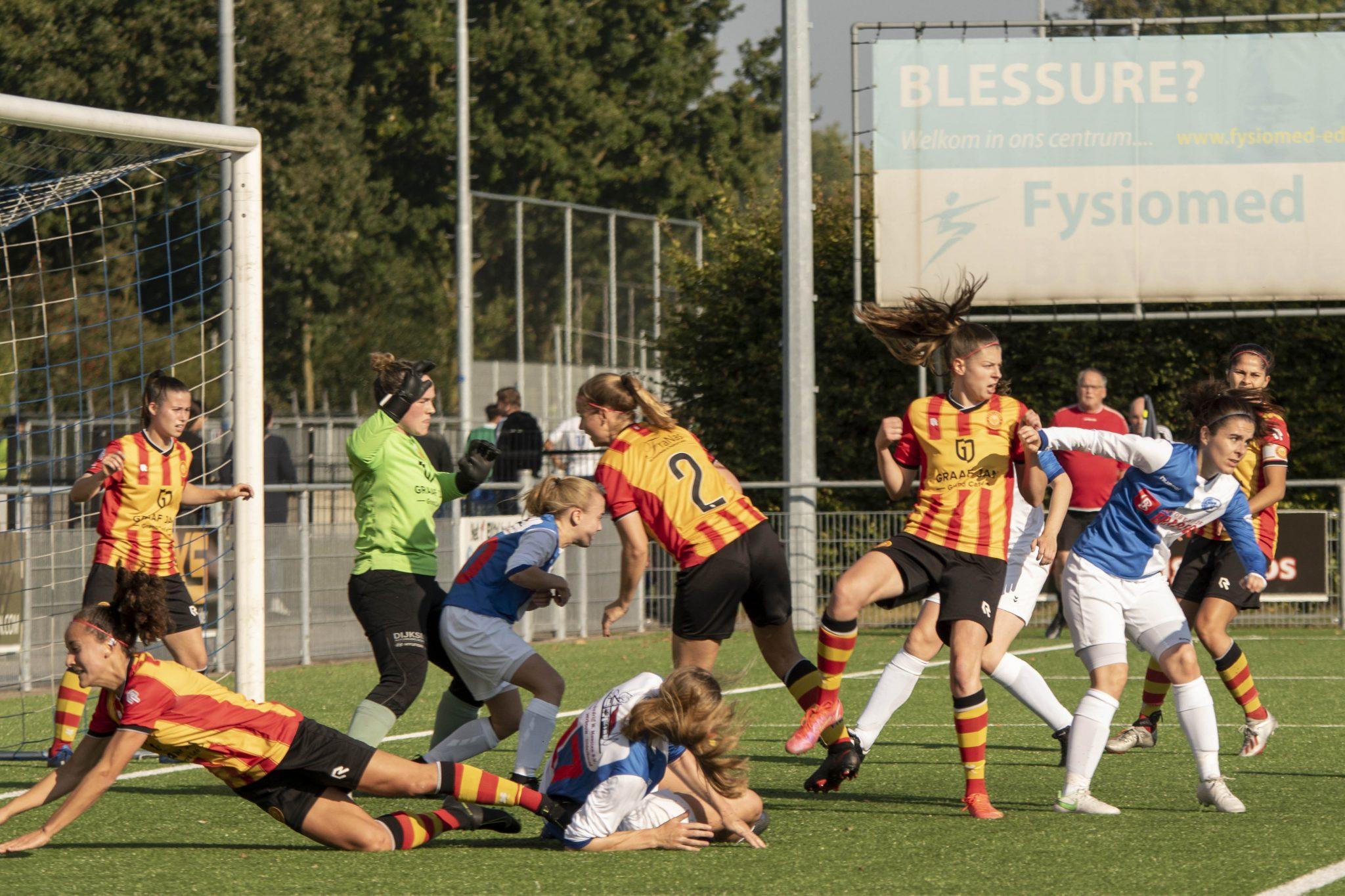 TOPKLASSE: Dames DTS Ede pakken ook de winst tegen Ter Leede (4-3)