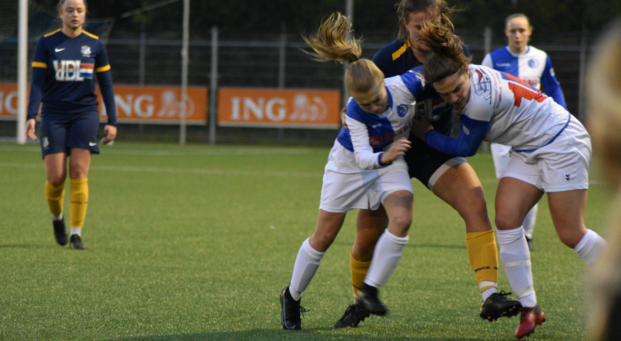 DTS Ede Vrouwen 1 schakelen FC Eindhoven av uit in bekertoernooi