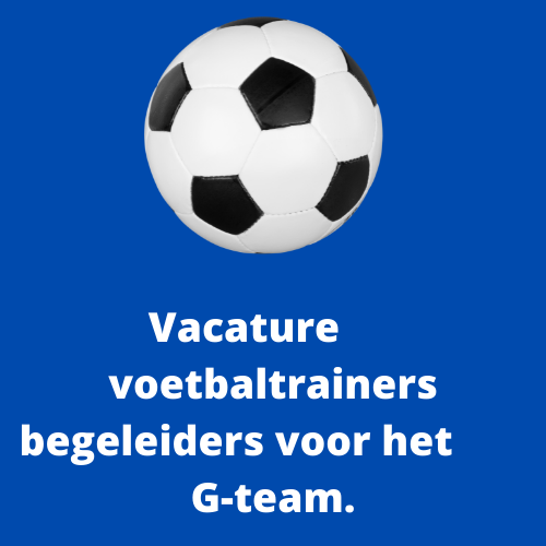 DTS Ede zoekt een enthousiaste voetbaltrainers/begeleiders voor het G-team.