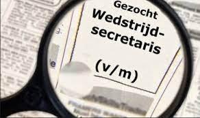 Oproep: Wedstrijdsecretaris(sse) gezocht!